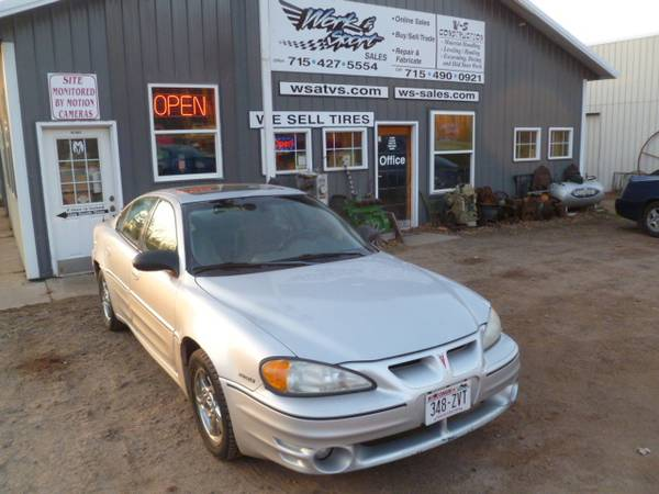 Photo 2003 PONITIAC GRAND AM GT CAR 3.4L V6 RUNS AND DRIVES - $1,500 (westboro, wi 54490)