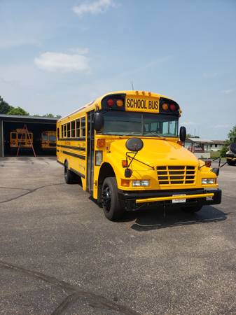 Photo 2007 Blue Bird School Bus - $6,900 (Pittsville)