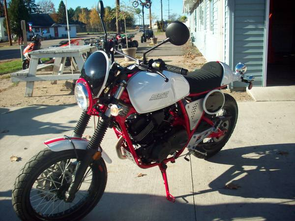 Photo 2017 SSR- BUCCANEER 250 cafe - $2,700 (Mosinee)