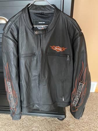 Photo 2XL - Harley-Davidson Mens Leather Jacket - $150 (Kronenwetter)