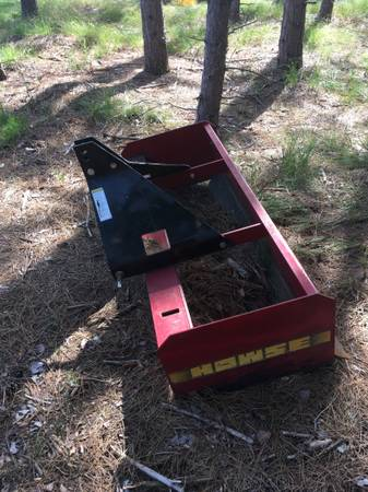 Photo 5 box scraper with tines for 3pt hitch - $550 (Rome)
