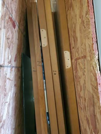 Photo 6 interior hole core flush oak door slabs - $100 (Marshfield)