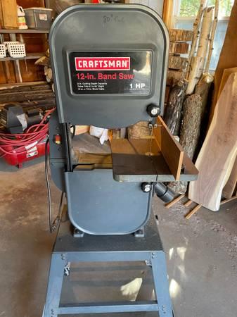 Photo Craftsman 12 band saw - $290 (Port Edwards)