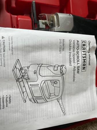 Photo Craftsman Auto-Scroll Saw - $30 (Stevens Point)