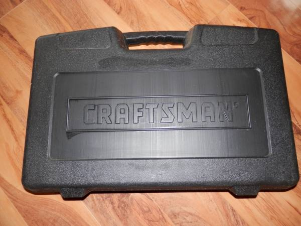 Photo Craftsman Hard Plastic Black Carrying Travel Tool Case For Model No 97 - $15 (WISCONSIN RAPIDS)