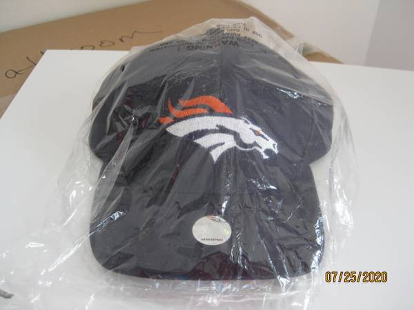 Photo Denver Broncos Velcro Adjustable Team Cap. - $10 (Stevens Point)