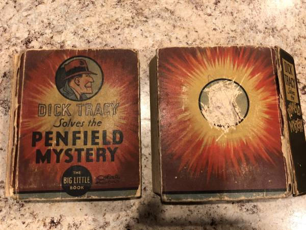 Photo Dick Tracy Solves the Penfield Mystery (Big Little Book) - $10 (Rib Mountain)