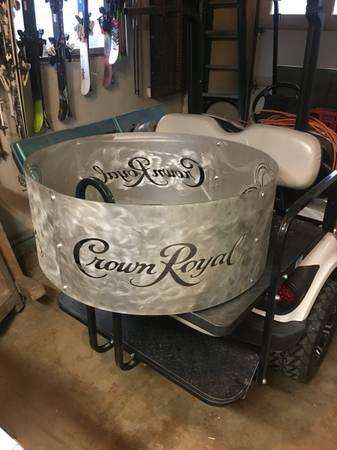 Photo Fire ring pit Crown Royal - $150 (Mosinee)