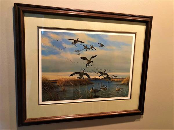 Photo Framed Owen Gromme Connor39s Ditch - Horicon Marsh Print - $90