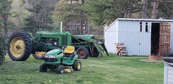 Photo John Deere Tractors - $5,200 (Port Edwards)