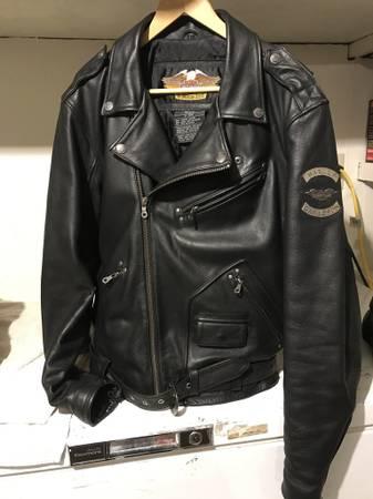 Photo Mens Harley Davidson Jacket - Chaps - $1 (Nekoosa)