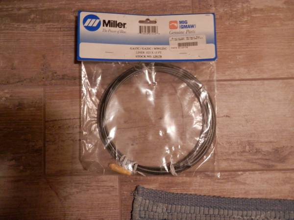 Photo Miller Welding Liner 0.023 x 15 ft NEW in Sealed Pkg - $20 (Wisconsin Rapids)