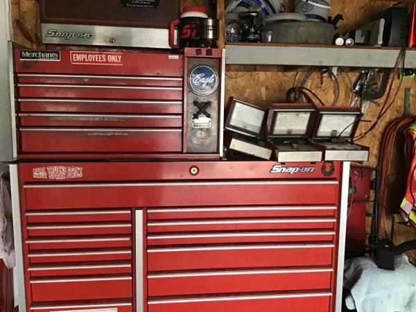 Photo Snap on tool set - $55,000