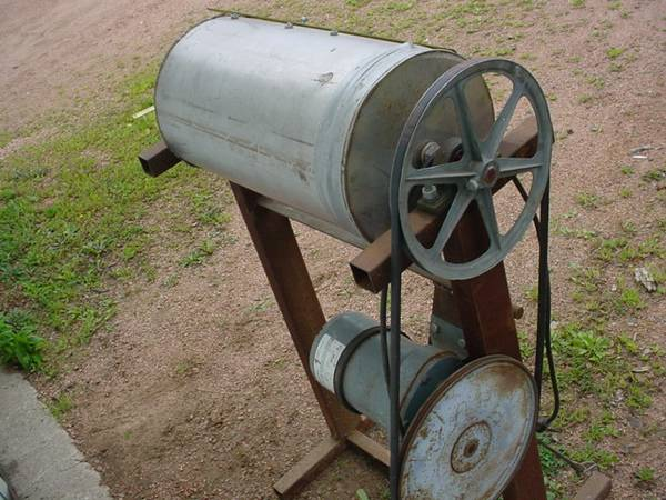Photo Stainless Steel Electric Parts Cleaner or Rock Tumbler - $100 (Junction City, WI)