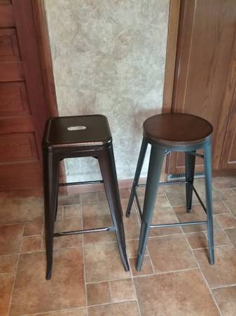 Two Bar Height Stools for sale - $40 (Marshfield)