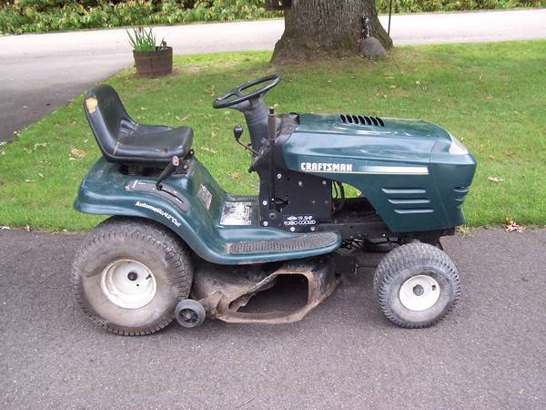 Photo Two Craftsman Lawn Tractor-Parts or Rebuild - $175 (Waupaca)
