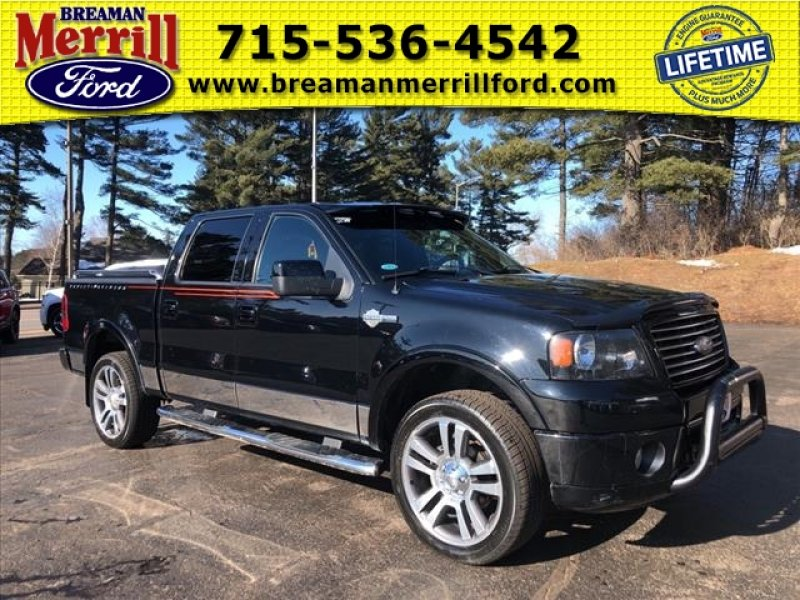 Photo Used 2007 Ford F150 Harley-Davidson for sale