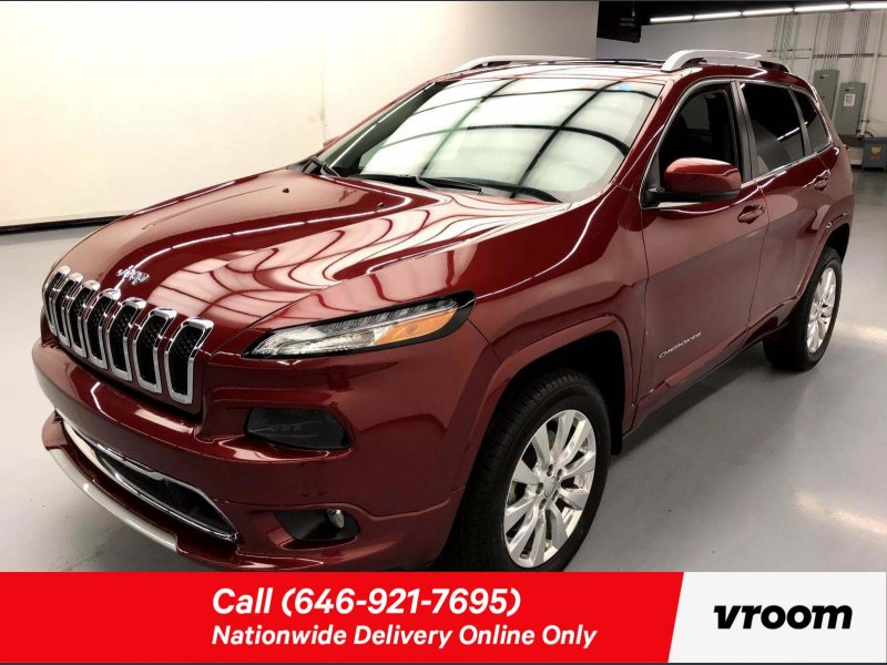 Photo Used 2016 Jeep Cherokee 4WD Overland for sale