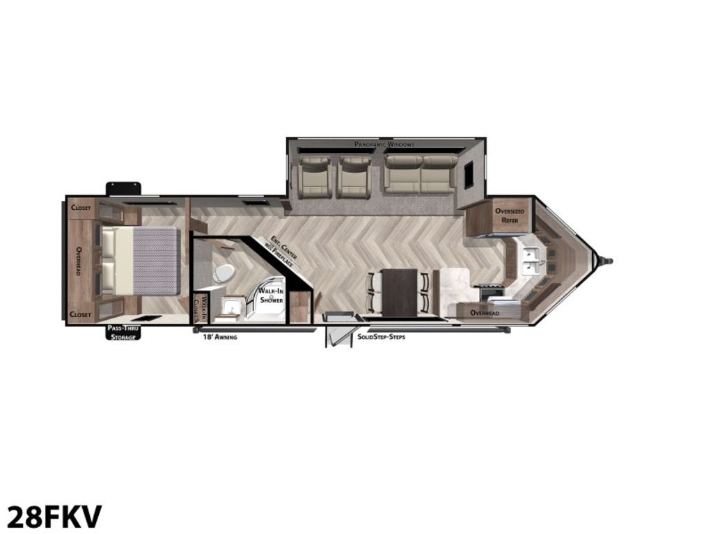 Photo 2020 Forest River Wildwood Midwest 28FKV $23499