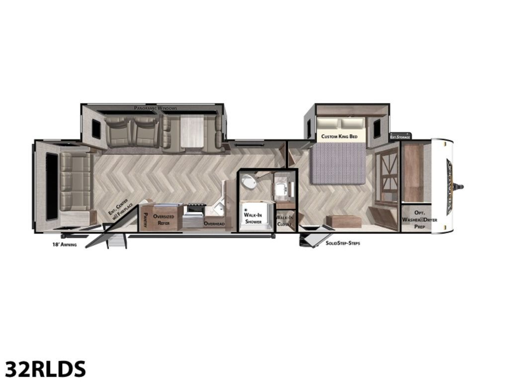 Photo 2020 Forest River Wildwood Midwest 32RLDS $27399