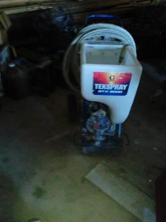 Photo graco gtx 2000 texture sprayer - $350 (waupaca)