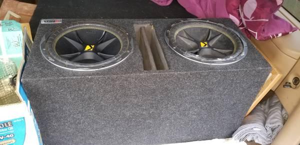 Photo 12 inch subs in box - $150 (Wenatchee)