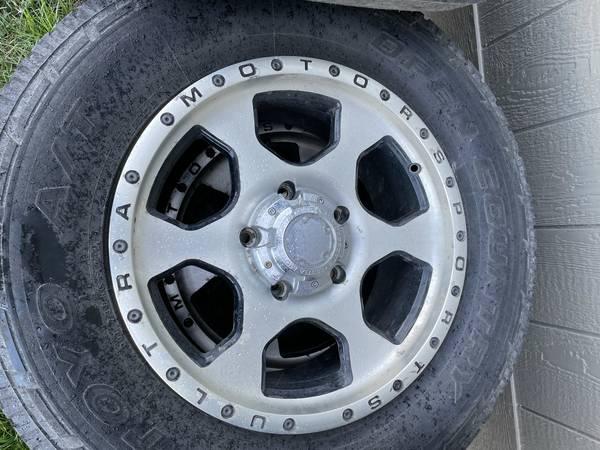 Photo 18 Inch Wheels  Tires for Toyota Tundra - $200 (Wenatchee)