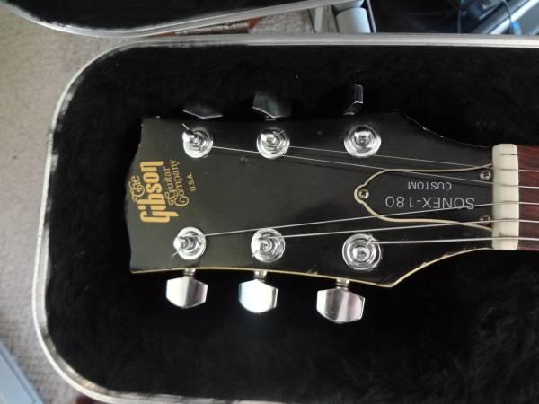 Photo 198081 Gibson Sonex 180 Custom - $1,000 (Wenatchee, Wa.)