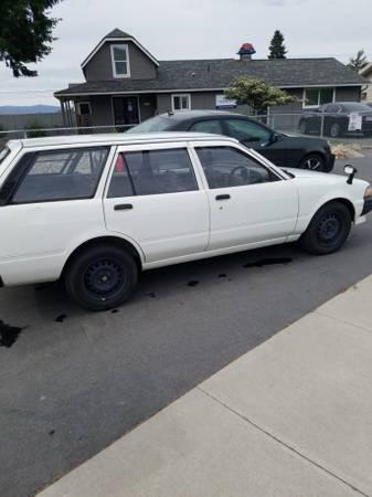 Photo 1991 Toyota Carina RHD Mail delivery vehicle - $4500 (East Wenatchee, WA)