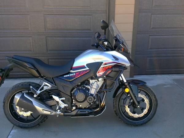 Photo 2018 Honda CB500X - $6,200 (chelan)