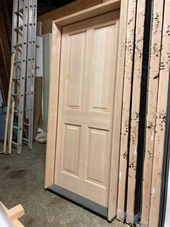 Photo 20 minute exterior fire rated door with jamb - $750 (Cashmere)
