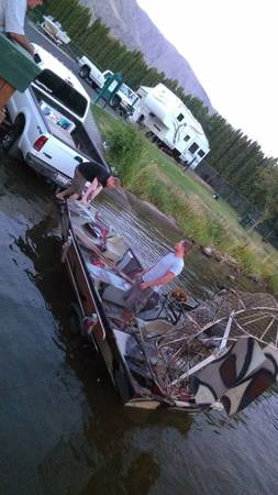 Photo Air boat with trailer - $4500