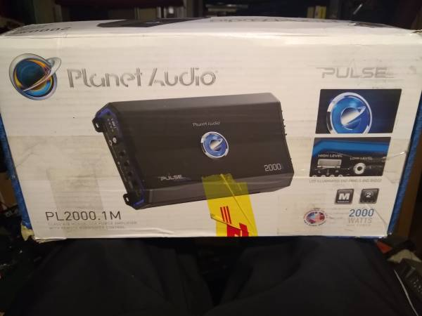 Photo Brand new planet audio 2000 watt  - $80 (east wenatchee)
