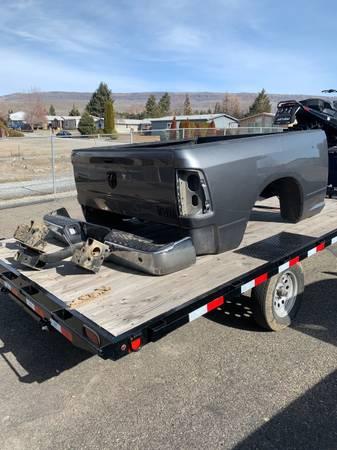 Photo Dodge truck bed, bumper, hitch - $1,200 (Wenatchee)