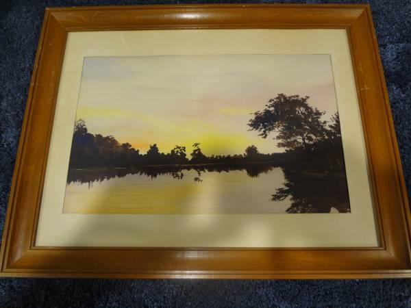 Photo Horsfall watercolor painting - $1 (Wenatchee, WA.)