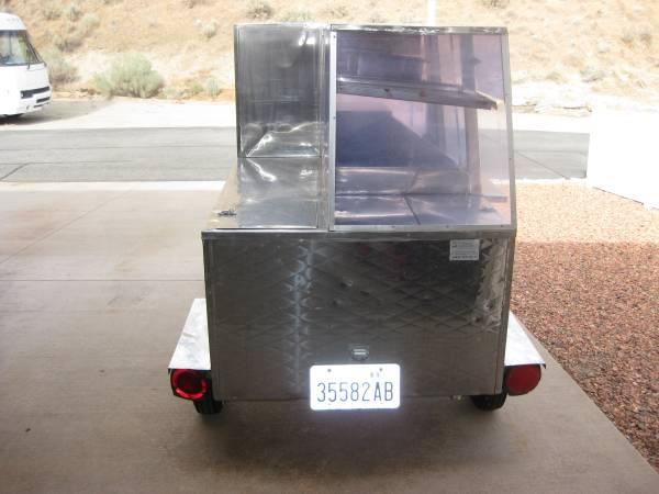 Photo Hot dog concession trailer - $1,950 (Wenatchee, Wa)