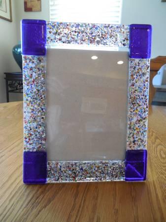 Photo Italian Murano Glass Picture Frame - $8 (Tumwater Hill)