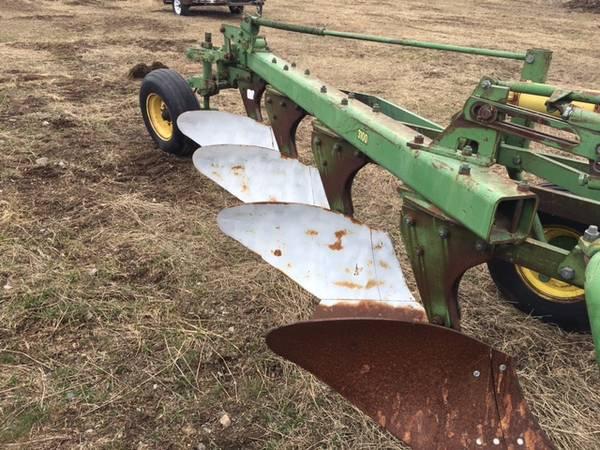 Photo John Deere four bottom plow - $750 (Athol, Idaho)