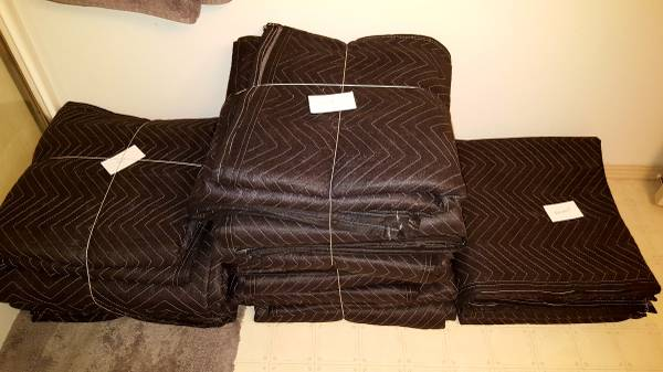 Photo Packing Blankets, Utility Blankets, Moving Blankets, Furniture Pads - $5 (Cashmere)