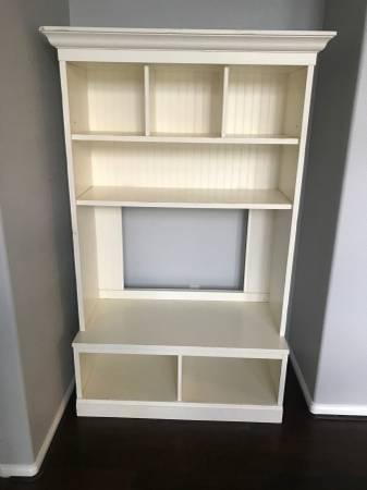 Photo Pottery Barn TV Hutch Book Shelf - $100 (Wenatchee)