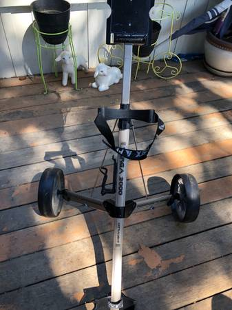 Photo Pro kennex targa 2000 golf cart - $50 (Wenatchee wa)
