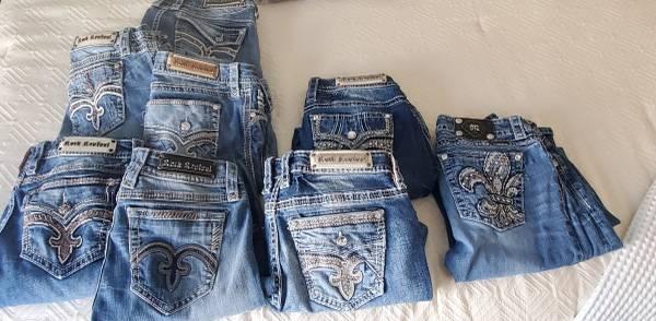 Photo Rock Revival (7)  Miss Me (1) Jeans - $40 (Wenatchee)