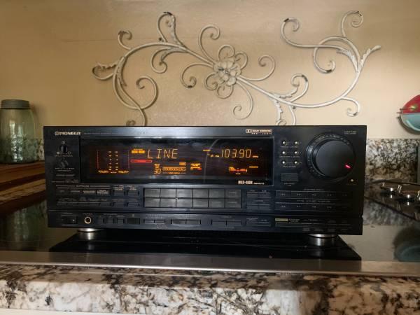 Photo Vintage Pioneer AV Receiver Amplifier Pre Amp Tuner Stereo VSX-9500S - $195 (East Wenatchee)