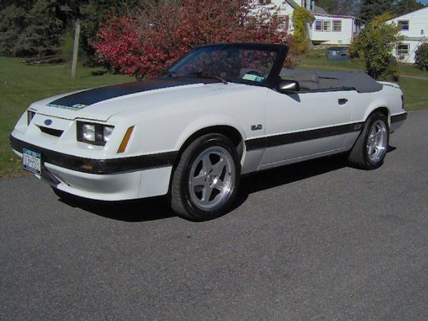 Photo 1985 Mustang GT 5.0 Conv. - $9,750 (Hillsdale NY)