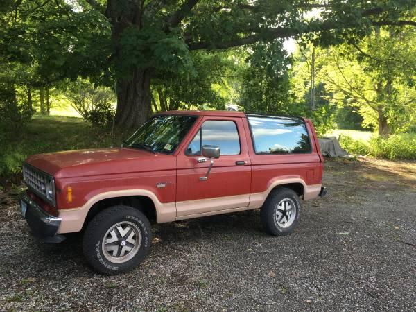 Photo 1987 Ford Bronco II Eddie Bauer Edition - $9,500 (Williamstown)