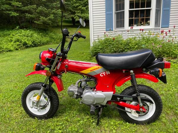 Photo 1991 Honda CT70 1700 miles show piece Honda CT 70 - $3,900 (Whitingham)
