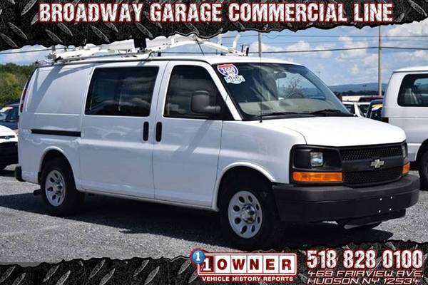 Photo 2009 Chevy Express 1500 Cargo Clean Carfax 1 Owner 43k, WE FINANCE - $11992 (Hudson)