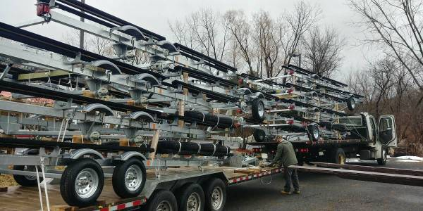 Photo 2021 Load RiteVentureYacht Club Galvanized Pontoon Boat trailers  - $2,199 (Dalton, MA.)