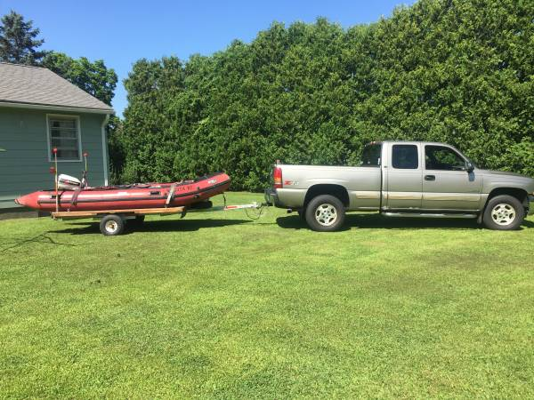 Photo Achilles inflatable boat 14 foot - $2,000 (Ware)