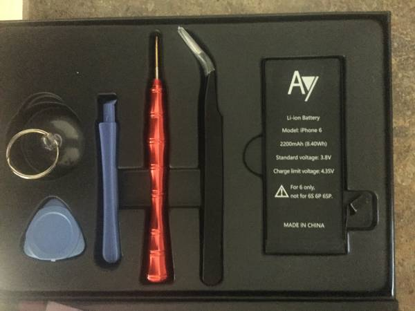 Photo Battery for iPhone 6 - $50 (West Springfield, Ma)
